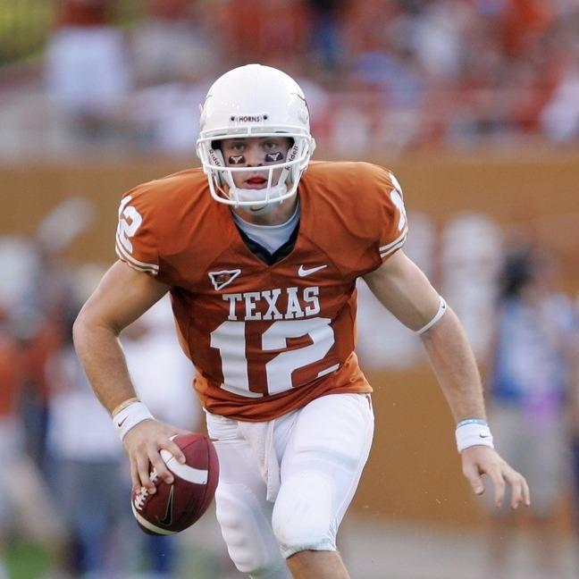 Colt Mccoy S Confusion After Texas Beats Tcu Last Row