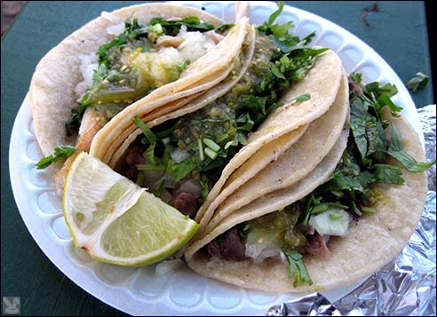 ... are no ordinary tacos, they're (wait for it) beef tongue tacos